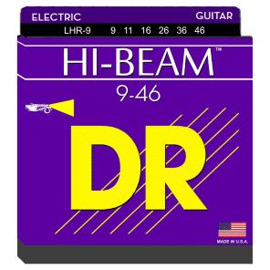 DR LHR-9 Hi-Beam Lite-n-Heavy Electric Guitar Strings (9-46)