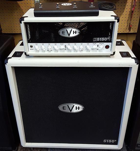 980fa18acc1 EVH Rig - EVH 5150 III 50W Head and 5150 III 4x12 Cab - White
