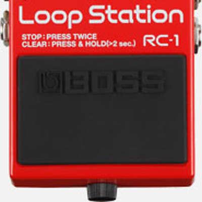 Boss RC-1 Loop Station - Boss RC-1 Loop Station Red