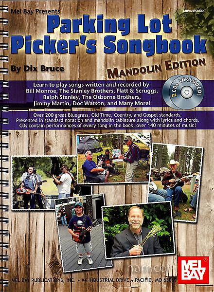 Mel Bay Parking Lot Pickers Mandolin | Fretwell Bass