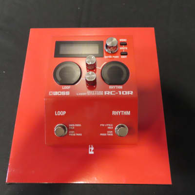 Boss Boss RC-10R Rhythm Loop Station Red for sale