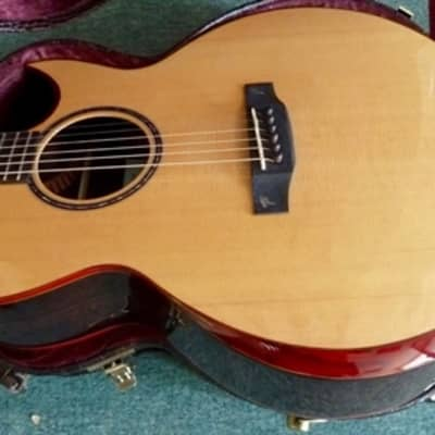 MINT ex demo model Terry Pack SJRS acoustic guitar, solid rosewood B/S, armrest, case, save £600.00 for sale