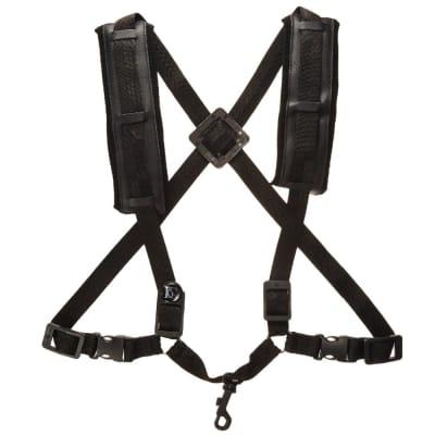 BG Model S40CSH Men's Alto/Tenor Saxophone Comfort Harness with Snap Hook