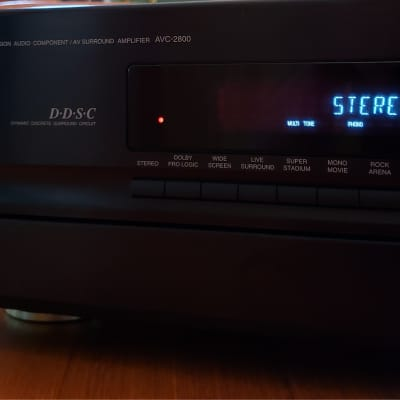 Denon AVC-2800  Integrated Amplifier 85 Watts Per Channel - NICE Vintage Classic Amp