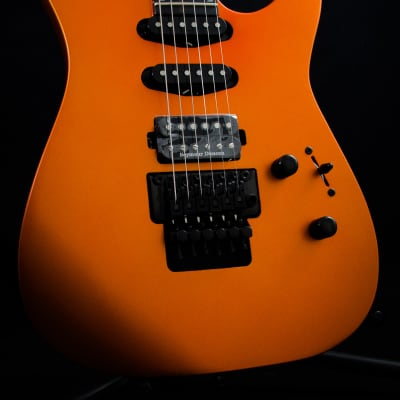 Jackson Pro Series Soloist SL3 MAH HSS in Satin Orange Blaze for sale