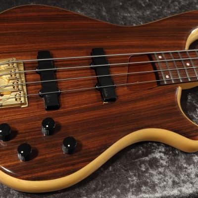 1990 Rockoon Schaller Japan RB-100R -Highest End- Bass Guitar Rosewood Top&Back - RARE for sale
