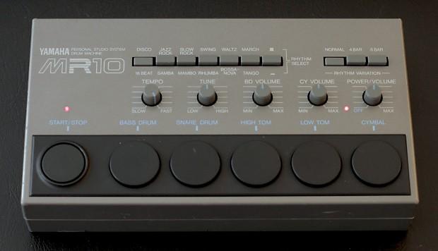 yamaha mr 10 personal studio system drum machine reverb. Black Bedroom Furniture Sets. Home Design Ideas