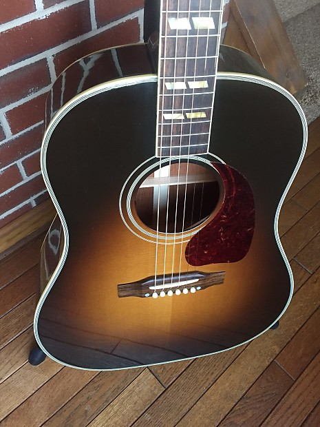gibson aaron lewis southern jumbo acoustic electric guitar reverb. Black Bedroom Furniture Sets. Home Design Ideas