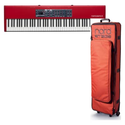 Nord Piano 4 Professional 88-Key Weighted Stage Piano w/ GB88 Soft Case