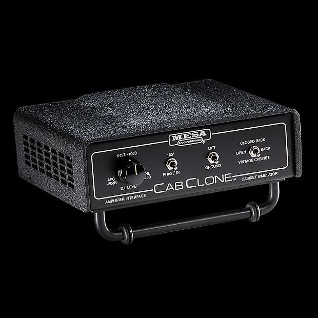 mesa boogie cabclone speaker cabinet simulator headphone reverb. Black Bedroom Furniture Sets. Home Design Ideas
