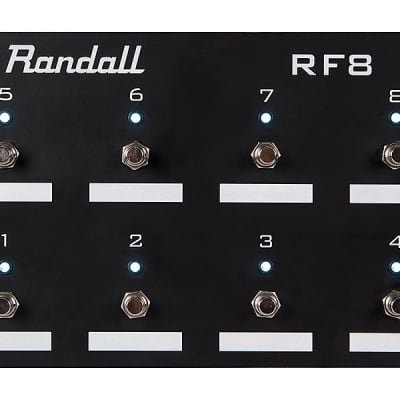 Randall RF8 8Button Midi Pedal / Footswitch for sale