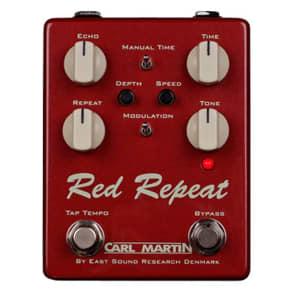 Carl Martin Red Repeat V3 Delay with Tap Tempo