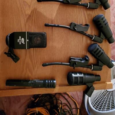 Full Drum Microphone Setup-Audix/MXL/Various  Various
