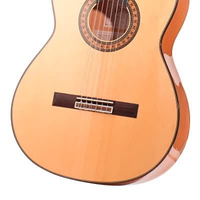 Spanish Flamenco Guitar CAMPS PRIMERA CYPRESS (blanca) - all solid - spruce top for sale