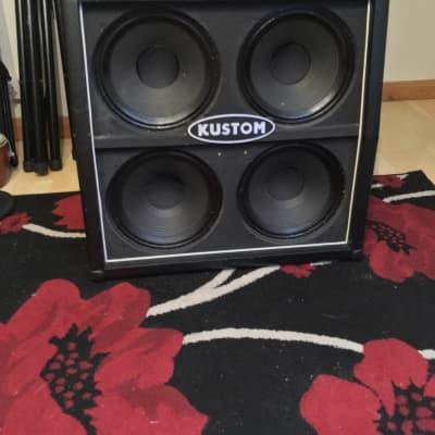 Kustom Kustom Quad Jr - 4 X 10 Guitar Cab for sale