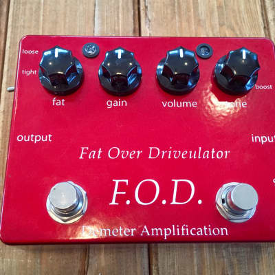 Demeter FOD-1 Fat Over Driveulator