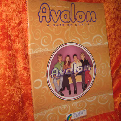 Avalon A Maze of Grace for Piano, Vocal and Guitar 80 Pages
