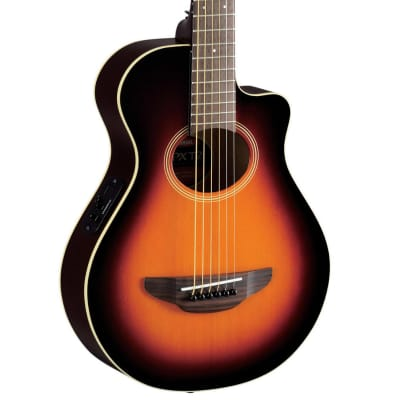 Yamaha APXT2 OVS Old Violin Sunburst APX Thinline Acoustic Electric Cutaway for sale