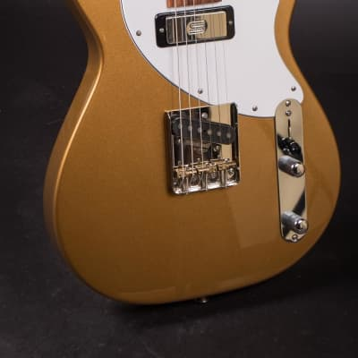 MJ Duke Deville Gold Sparkle Finish w/ Hard Case for sale