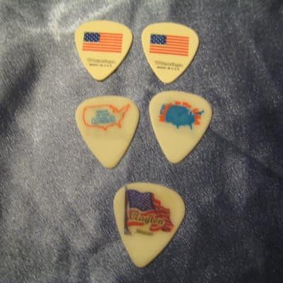 D'Andrea Guitar Picks W/ Flag and Patriotic Graphics