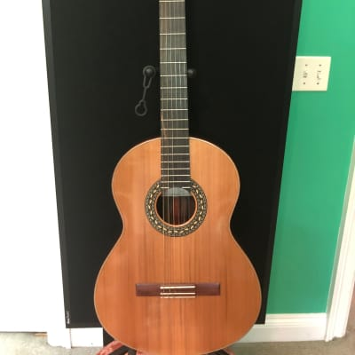 Thomas Malapanis Cedar/Ziricote 2016 Classical Guitar for sale
