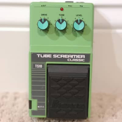 Ibanez TS-10 Tube Screamer Classic Overdrive *Museum Quality Condition*