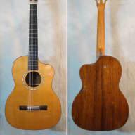 Art Davis Custom Brazilian Rosewood Classical Guitar for sale
