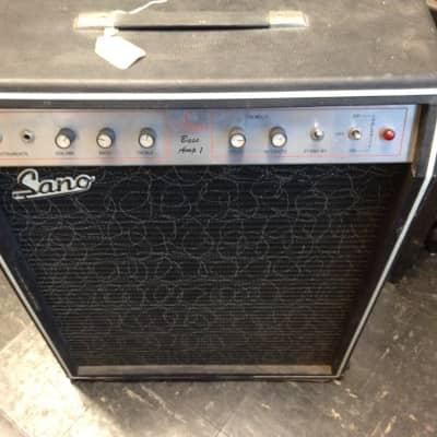 Vintage Sano Bass or Guitar Amplifier, All Tube, P2P Hand Wired, 1960's for sale