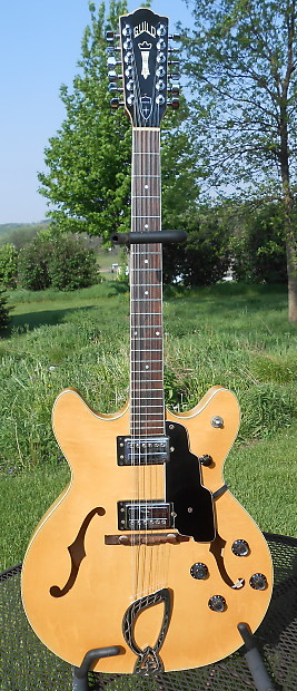 b7792a29c Guild Starfire XII 1967 Blonde Electric 12 string guitar Excellent  Condition w  HSC