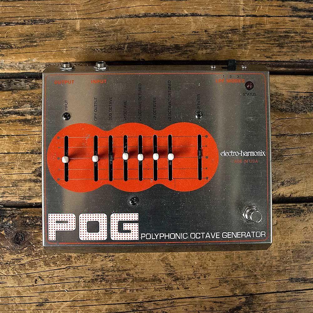 Electro-Harmonix POG Polyphonic Octave Generator | Reverb