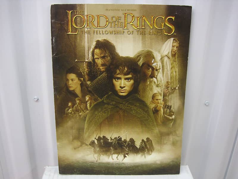 Lord Of The Rings Fellowship Of The Ring Piano Vocal Guitar Reverb