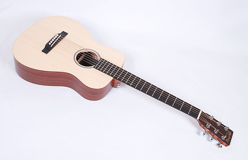 Martin Lx1 Solid Spruce Top Travel Guitar With Warranty Reverb
