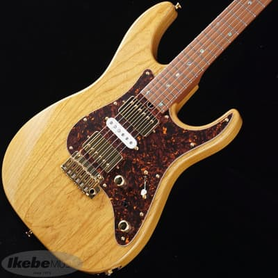 T's Guitars DST-24 HSH Ash Roasted Maple (Vintage Natural) -Made in Japan- for sale