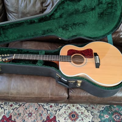 Guild  jf-30 12  2003 Natural with Original Hardshell Case for sale