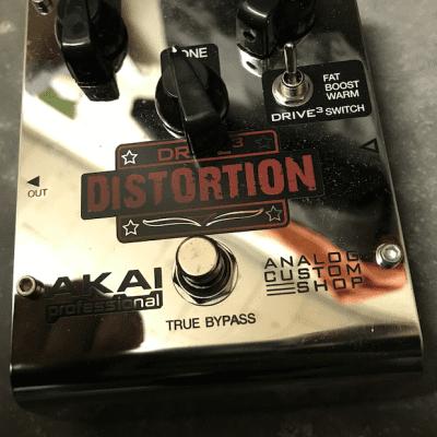 Akai  Akai Professional Custom Shop Drive 3 Distortion CHROME for sale