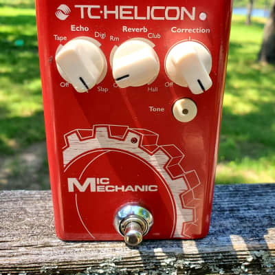 TC Helicon Mic Mechanic 2 With Box And Power Supply, Mint!
