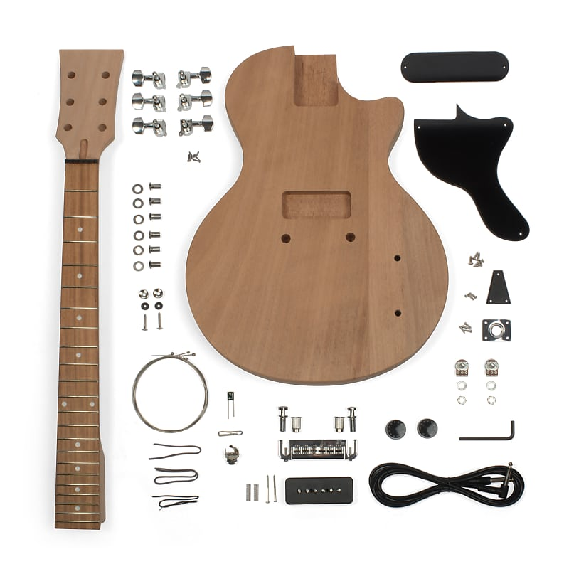 stewmac single cut jr electric guitar kit stewmac reverb. Black Bedroom Furniture Sets. Home Design Ideas