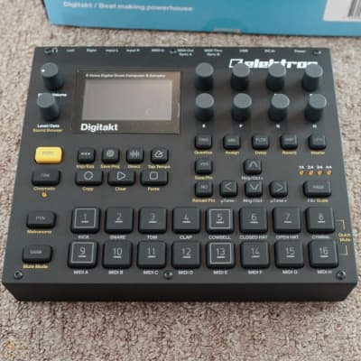 Elektron Digitakt Eight-Voice Digital Drum Computer/Sampler