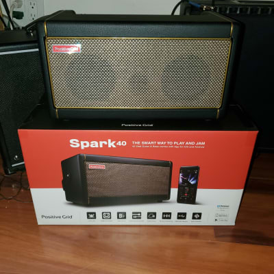 "Positive Grid Spark 40 40-Watt 2x4"" Modeling Guitar Combo"