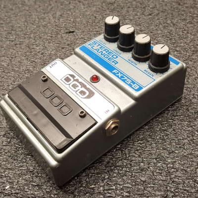 DOD FX-75B Stereo Flanger 1987 USA Grey for sale