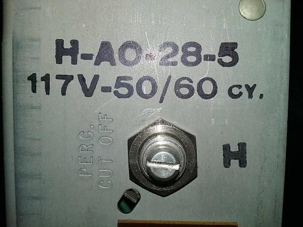 Hammond B3 C3 A100 RT3 Original Tube Organ Preamp AO-28 on