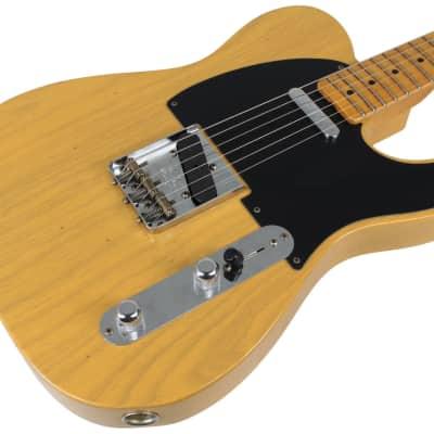 Fender Custom Shop Flash Coat '52 Tele Guitar, Butterscotch Blonde for sale