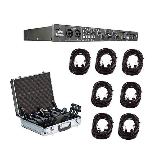 focusrite saffire pro 40 firewire audio interface audix dp7 reverb. Black Bedroom Furniture Sets. Home Design Ideas