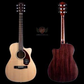 Fender Classic Design CC-140SCE Concert Cutaway Acoustic Electric - Natural w/Case - BLEM (250) for sale
