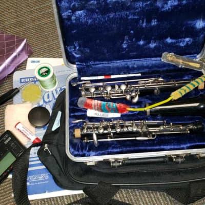 Yamaha YOB-211 Student Oboe, Shop Adjusted And Tons Of Extras!