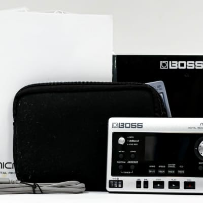 Boss Micro BR BR-80 Digital Recorder with Power Supply, USB, Case, Manual, SD