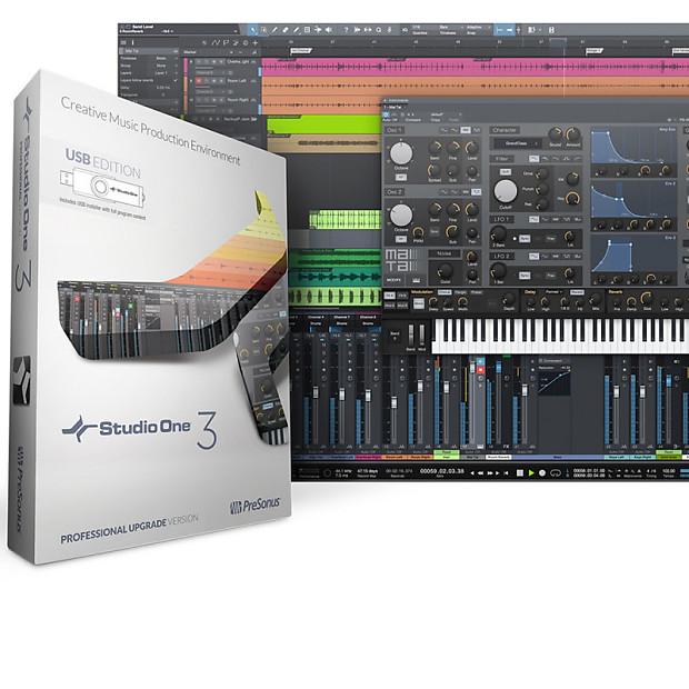 presonus studio one 3 professional key