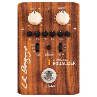LR Baggs Align Series Equalizer Acoustic Preamplifier Pedal for sale
