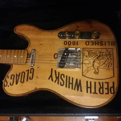 Walla Walla Telecaster  2017 PERTH WHISKEY for sale