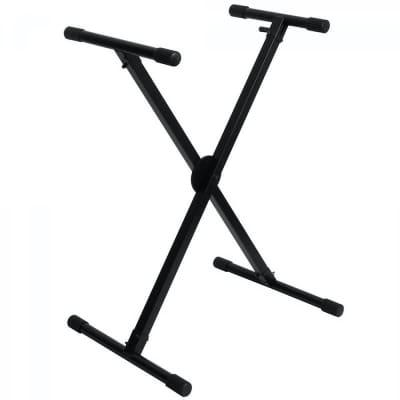 On-Stage Stands KS8290X Lok-Tight Pro Single-X ERGO-LOK Keyboard Stand